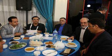 ضیافت افطاری کارگزاران استان تهران، در هفدمین روز ماه رمضان